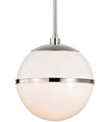 Crystorama 2112-PN Truax 1 Light 12 inch Polished Nickel Pendant Ceiling Light photo