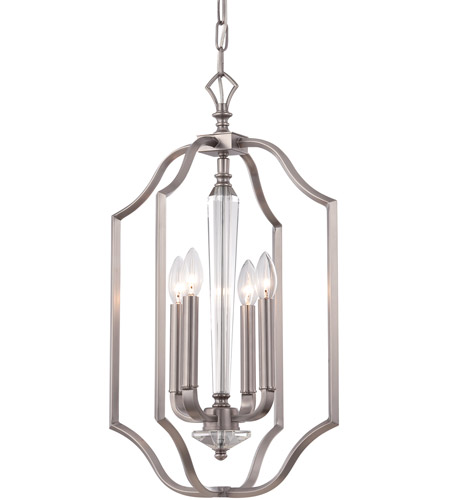 Crystorama 2235 pw hugo 4 light 14 inch pewter pendant ceiling light aloadofball Image collections