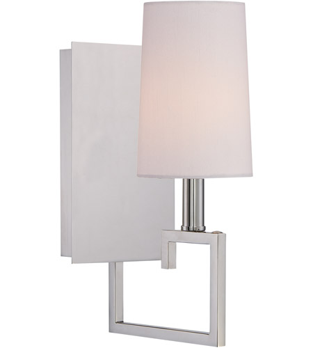 Crystorama 2251-PN Westwood 1 Light 6 inch Polished Nickel Wall Sconce Wall Light photo