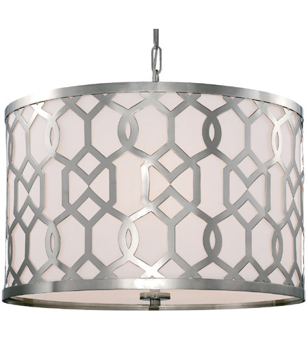 Crystorama 2266-PN Jennings 5 Light 24 inch Polished Nickel Chandelier Ceiling Light in Polished Nickel (PN) photo