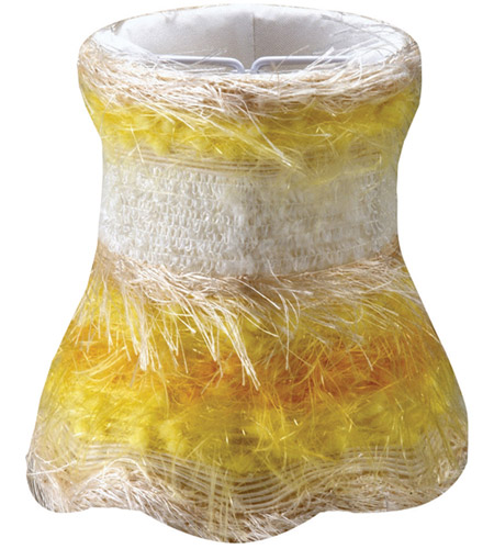 Crystorama Accessory Mini Shade in Yellow 26SH-YELLOW