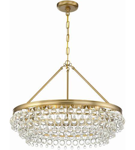 Crystorama 275 vg calypso 6 light 30 inch vibrant gold chandelier crystorama 275 vg calypso 6 light 30 inch vibrant gold chandelier ceiling light aloadofball Choice Image