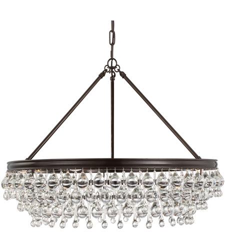 Crystorama 275-VZ Calypso 6 Light 30 inch Vibrant Bronze Chandelier Ceiling Light in Vibrant Bronze (VZ) photo