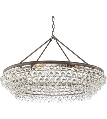 Crystorama 278-VZ Calypso 8 Light 40 inch Vibrant Bronze Chandelier Ceiling Light in Vibrant Bronze (VZ) photo
