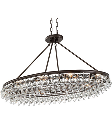 Crystorama 279-VZ Calypso 8 Light 18 inch Vibrant Bronze Chandelier Ceiling Light in Vibrant Bronze (VZ) photo