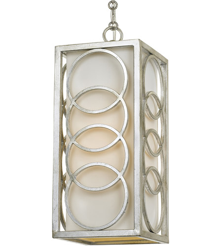 Crystorama 280-SA Graham 1 Light 7 inch Antique Silver Pendant Ceiling Light photo