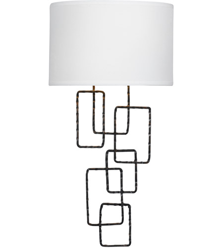 Crystorama 322-RS Lattice 2 Light 10 inch Raw Steel Wall Sconce Wall Light photo
