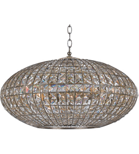 Crystorama 347-SA Solstice 6 Light 24 inch Antique Silver Chandelier Ceiling Light photo