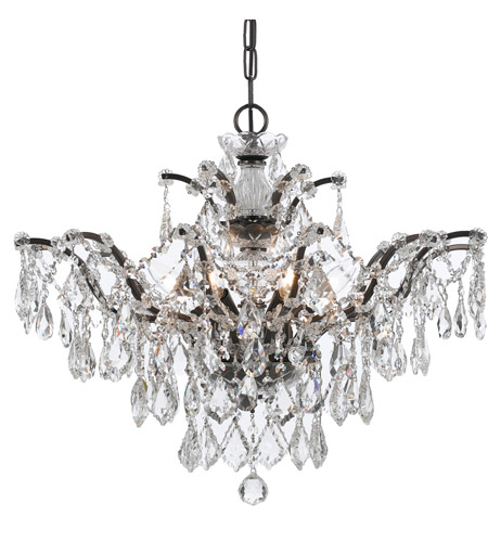 Crystorama 4459-VZ-CL-MWP Filmore 6 Light 27 inch Vibrant Bronze Chandelier Ceiling Light in Vibrant Bronze (VZ), Clear Hand Cut photo