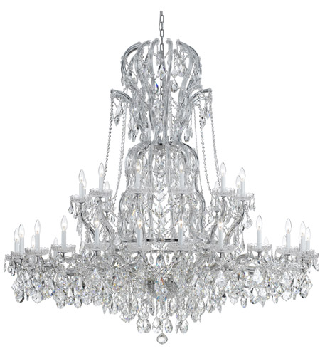 Crystorama Maria Theresa 37 Light Chandelier in Polished Chrome 4460-CH-CL-MWP photo