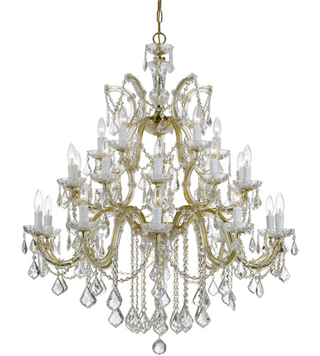 Crystorama Gold Chandeliers