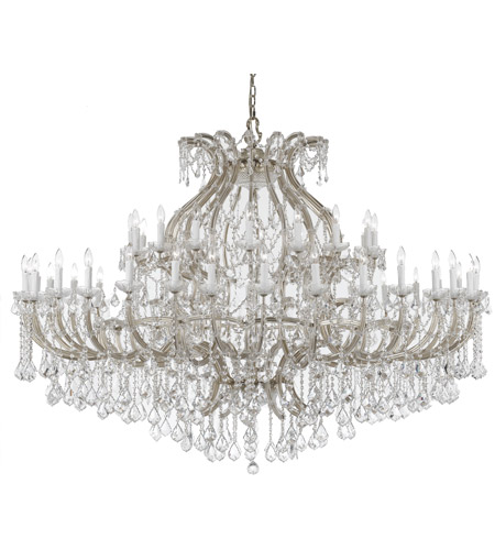 Crystorama Maria Theresa 48 Light Chandelier in Polished Chrome 4480-CH-CL-MWP photo