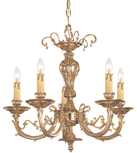 Crystorama 485-OB Etta 5 Light 20 inch Olde Brass Mini Chandelier Ceiling Light photo