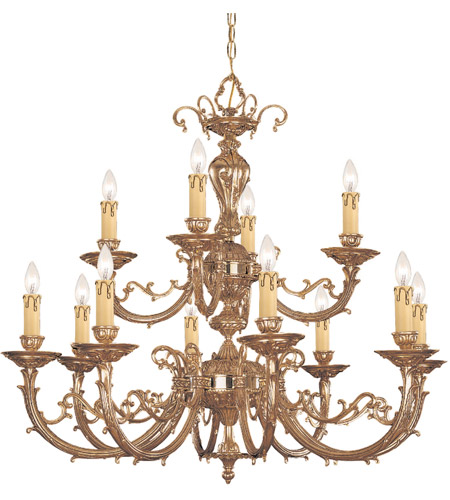 Crystorama 489-OB Etta 12 Light 32 inch Olde Brass Chandelier Ceiling Light photo