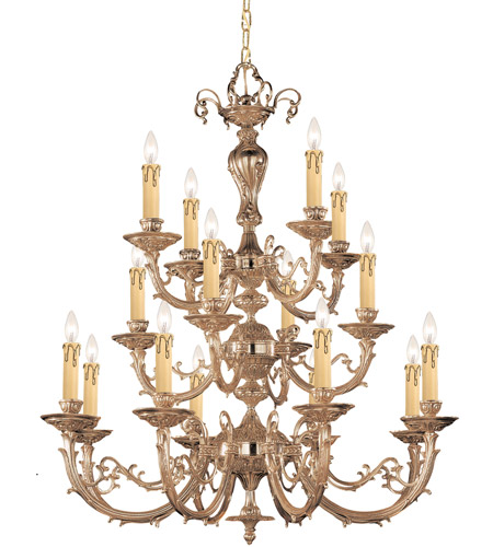 Cast Brass Etta Chandeliers