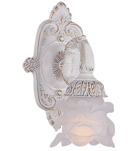Crystorama 5221-AW Paris Market 1 Light 7 inch Antique White Wall Sconce Wall Light photo