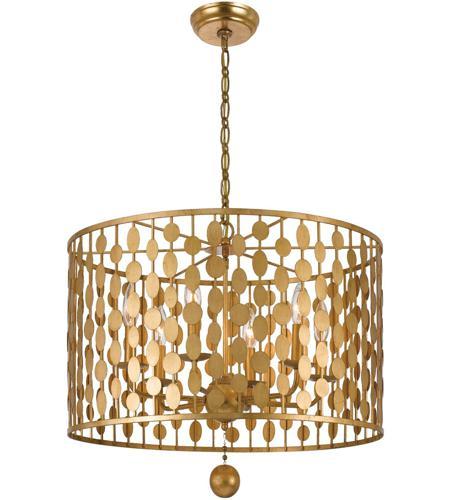 Crystorama 546 ga layla 6 light 24 inch antique gold chandelier crystorama 546 ga layla 6 light 24 inch antique gold chandelier ceiling light in antique mozeypictures Choice Image