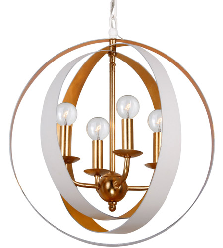Crystorama 584-MT-GA Luna 4 Light 16 inch Matte White and Antique Gold Mini Chandelier Ceiling Light in Matte White (MT)  sc 1 st  Crystorama Lighting Lights & Crystorama 584-MT-GA Luna 4 Light 16 inch Matte White and Antique ...