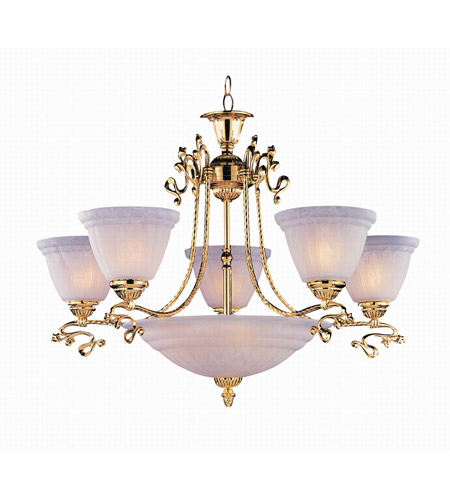 Crystorama Lighting Charleston 5 Light Chandelier in Gold 6208-GD photo