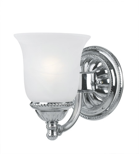Crystorama Chesapeake 1 Light Bath Light in Chrome 681-CH