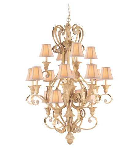 Crystorama Winslow 16 Light Chandelier in Champagne 6810-CM photo