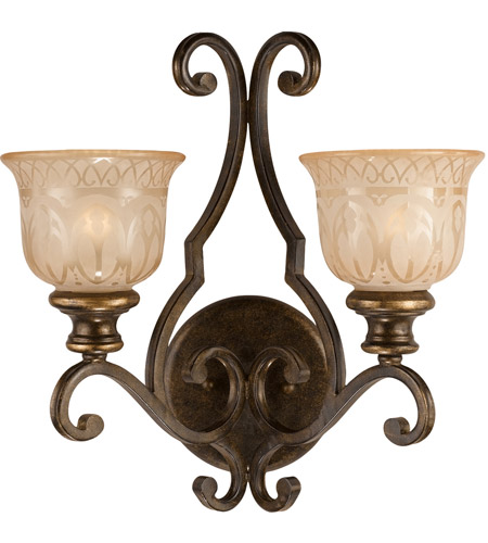 Crystorama Bronze Wall Sconces
