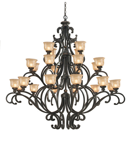 Crystorama 7418-BU Norwalk 24 Light 64 inch Bronze Umber Chandelier Ceiling Light photo