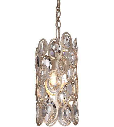Crystorama 7580-DT Sterling 1 Light 6 inch Distressed Twilight Pendant Ceiling Light photo