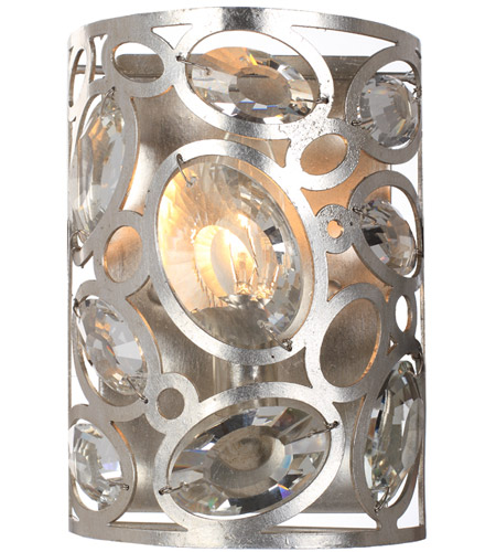 Crystorama 7581-DT Sterling 1 Light 6 inch Distressed Twilight Wall Sconce Wall Light photo