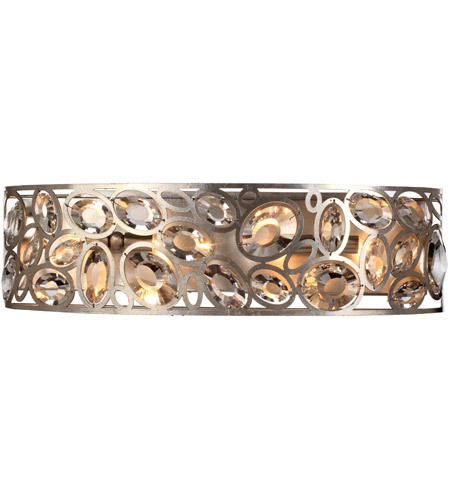 Crystorama 7585-DT Sterling 4 Light 25 inch Distressed Twilight Vanity Light Wall Light photo