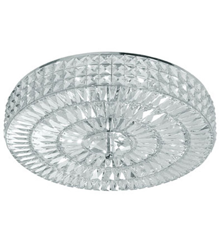 Crystorama 818-CH-CL-MWP Chelsea 6 Light 18 inch Polished Chrome Semi Flush Mount Ceiling Light in Clear Crystal (CL), Hand Cut, Polished Chrome (CH) photo