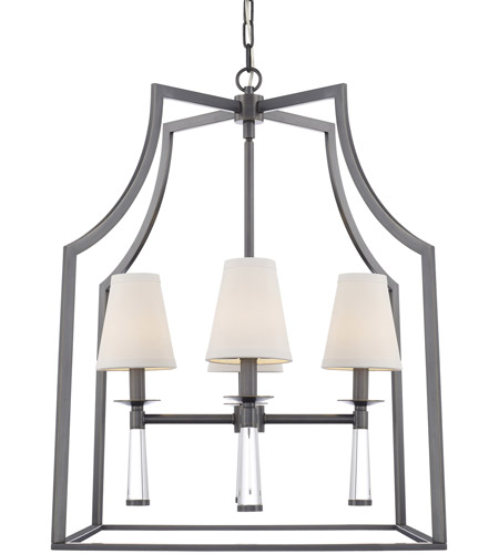 Crystorama 8864-OR Baxter 4 Light 22 inch Oil Rubbed Bronze Chandelier Ceiling Light in Oil Rubbed Bronze (OR) photo