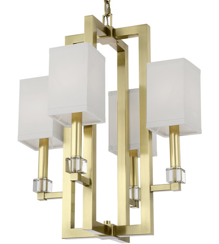 Crystorama 8884-AG Dixon 4 Light 19 inch Aged Brass Chandelier Ceiling Light photo