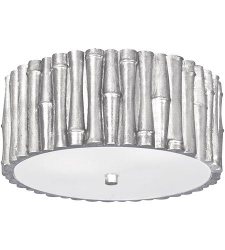 Crystorama 9010-SA Masefield 2 Light 11 inch Antique Silver Semi Flush Mount Ceiling Light photo