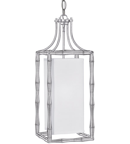 Crystorama 9011-SA Masefield 1 Light 9 inch Antique Silver Pendant Ceiling Light photo