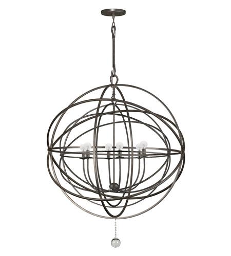 Crystorama solaris 6 light chandelier in english bronze 9209 eb crystorama solaris 6 light chandelier in english bronze 9209 eb photo aloadofball Gallery