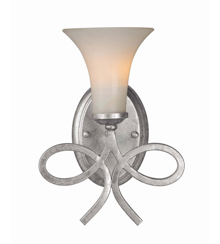 Crystorama 9221-OS Crystorama Solaris 1 Light Wall Sconce in Olde Silver 9221-OS  photo