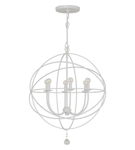Crystorama solaris 6 light chandelier in wet white 9226 ww crystorama solaris 6 light chandelier in wet white 9226 ww photo aloadofball Gallery