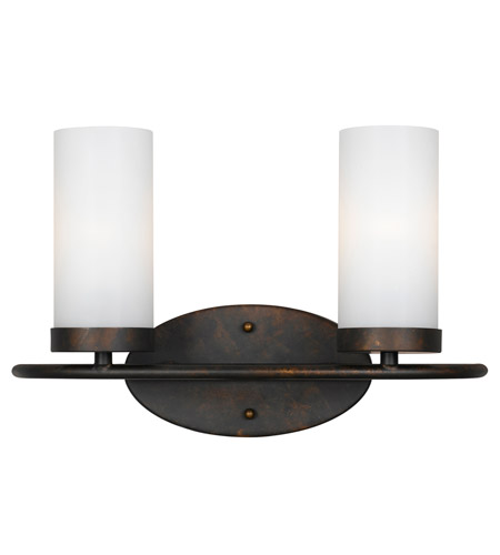 Crystorama Cameron 2 Light Vanity Light in English Bronze 9262-EB photo