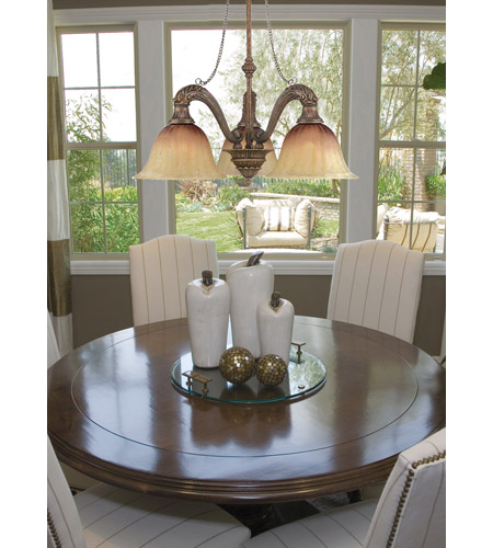 Crystorama Yorktown 3 Light Billiard/Island Light in Espresso 9315-ES photo