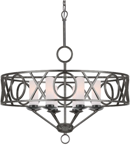 Crystorama 9448-EB Odette 8 Light 30 inch English Bronze Chandelier Ceiling Light in English Bronze (EB) photo