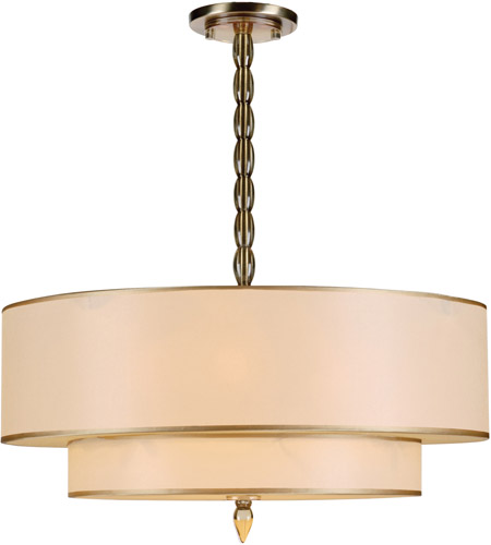 Crystorama 9507-AB Luxo 5 Light 26 inch Antique Brass Chandelier Ceiling Light in Antique Brass (AB) photo