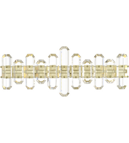 Crystorama BOL-8883-AG Bolton 3 Light 26 inch Aged Brass Bathroom Vanity Wall Light photo