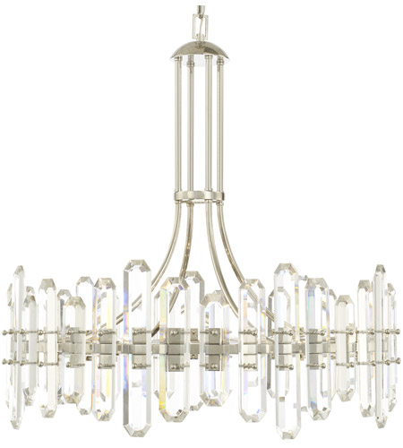 Crystorama BOL-8889-PN Bolton 12 Light 31 inch Polished Nickel Chandelier Ceiling Light photo