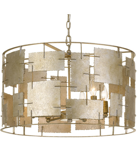 Crystorama BRO-4866-OX Bronson 6 Light 23 inch Oxidized Silver Chandelier Ceiling Light  photo