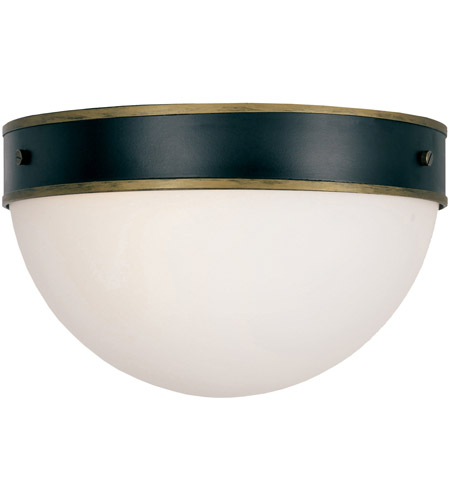 Crystorama CAP-8503-MK-TG Capsule 2 Light 12 inch Matte Black and Textured Gold Outdoor Ceiling Mount, Brian Patrick Flynn photo