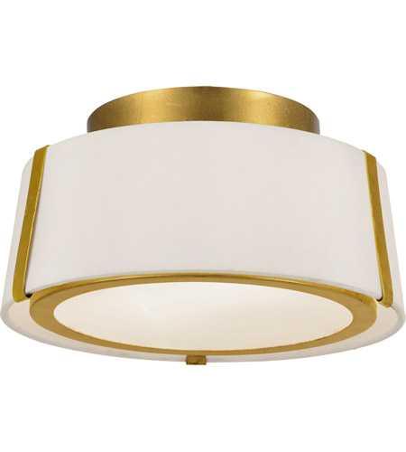 Crystorama FUL-903-GA Fulton 2 Light 12 inch Antique Gold Semi Flush Mount Ceiling Light photo