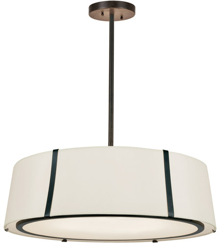 Crystorama FUL-907-BK Fulton 6 Light 24 inch Matte Black Chandelier Ceiling Light photo