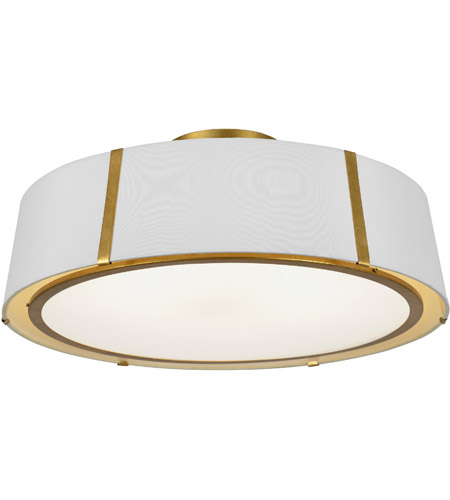 Crystorama FUL-907-GA_CEILING Fulton 6 Light 24 inch Antique Gold Semi Flush Mount Ceiling Light photo