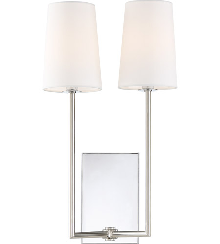 quite nice 9fed0 2044e Lena 2 Light 10 inch Polished Chrome Wall Sconce Wall Light in Chrome (CH)